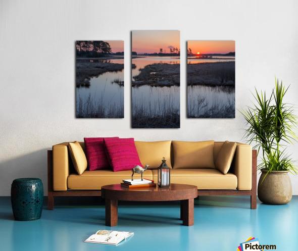 Sunrise ap 2786 Canvas print