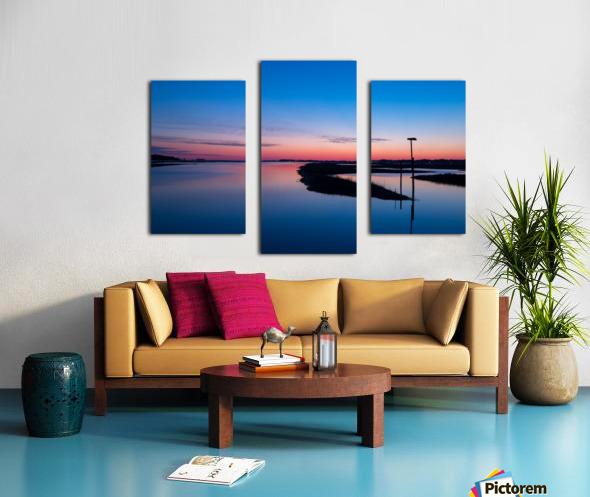 Sunset ap 2762 Canvas print