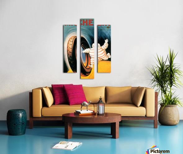 Michelin Poster Impression sur toile