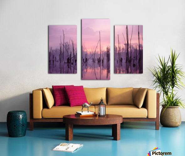 Sunrise ap 1501 Canvas print