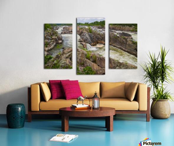 Great Falls ap 2019 Canvas print
