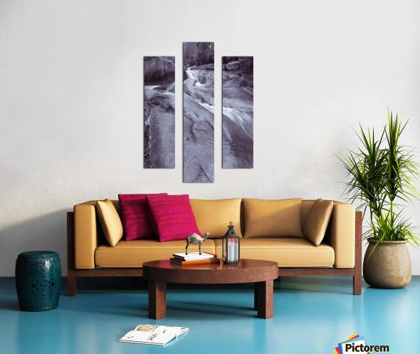 The Basin ap 2162 B&W Canvas print