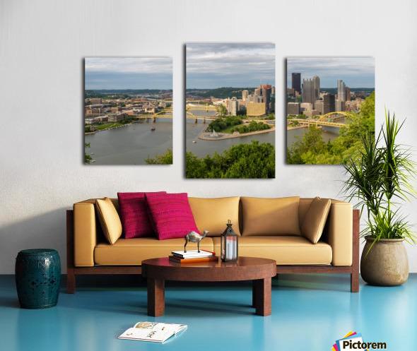 Pittsburgh apmi 1693 Canvas print