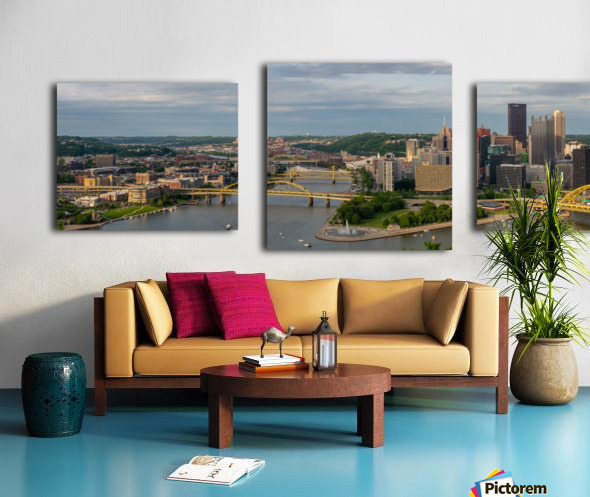 Pittsburgh apmi 1698 Canvas print