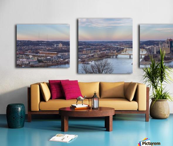 Pittsburgh apmi 1513 Canvas print