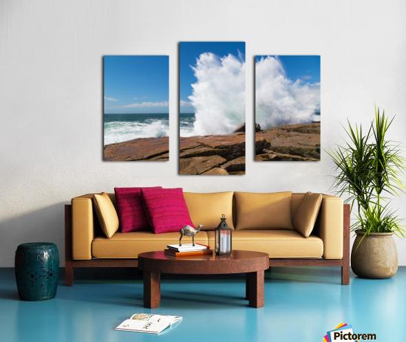 Crashing Wave ap 2309 Canvas print