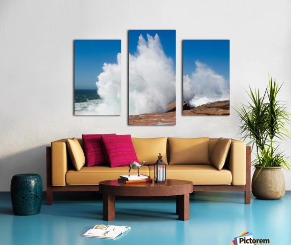 Crashing Wave ap 2320 Canvas print