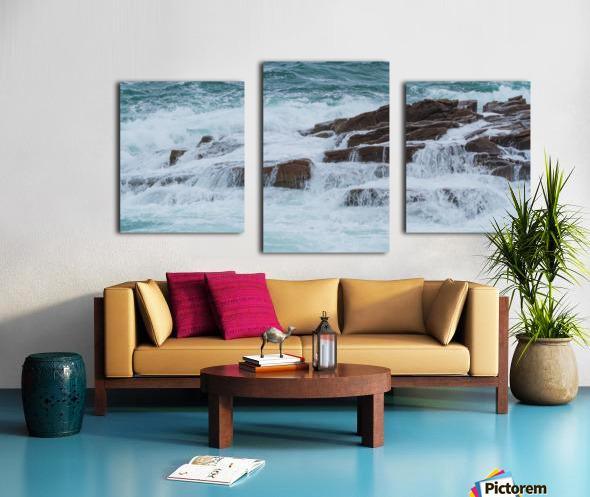 Crashing Waves ap 1535 Canvas print