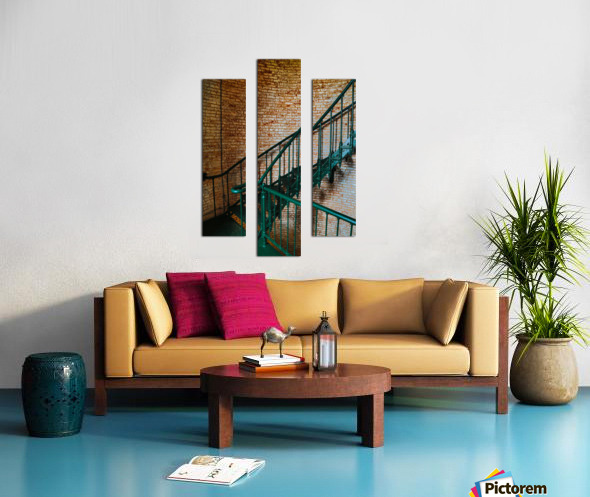 Interior Detail ap 2098 Canvas print