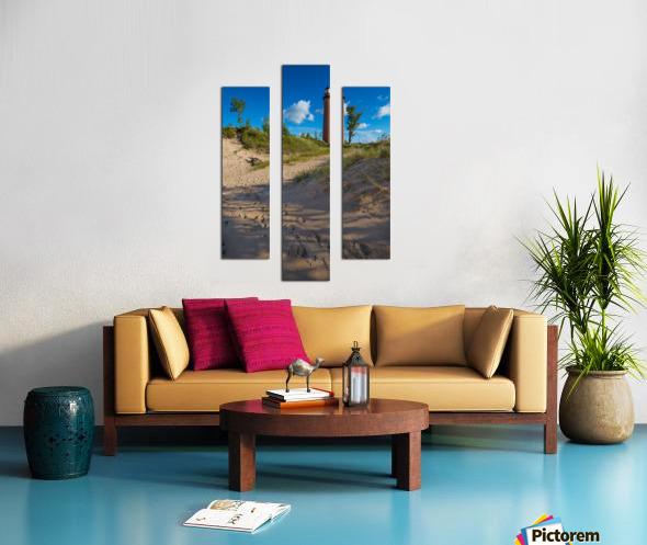 Little Sable ap 2442 Canvas print