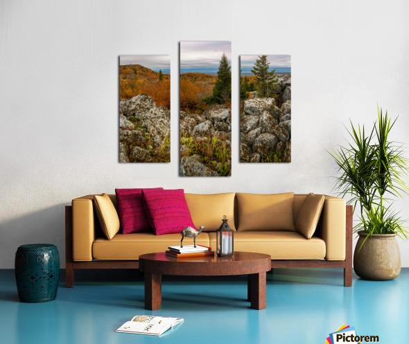 Bear Rocks Overlook apmi 1789 Canvas print