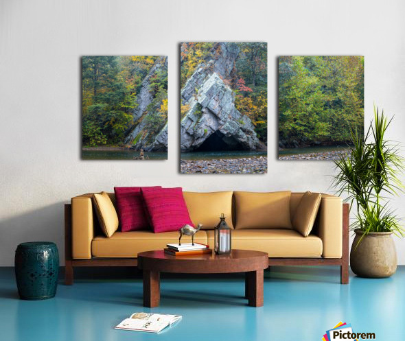 Rock Formations apmi 1868 Canvas print