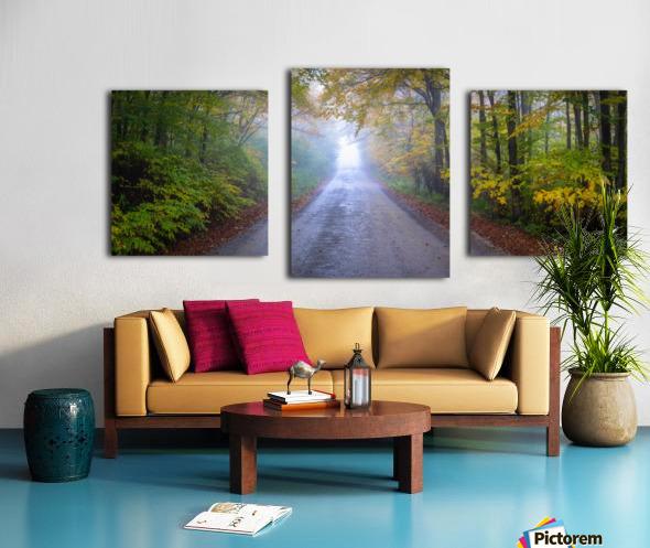 Route 75 apmi 1860 Canvas print