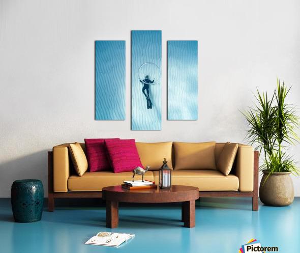 diver 3 Canvas print