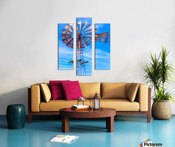 Uncle Sams Windmill Canvas print