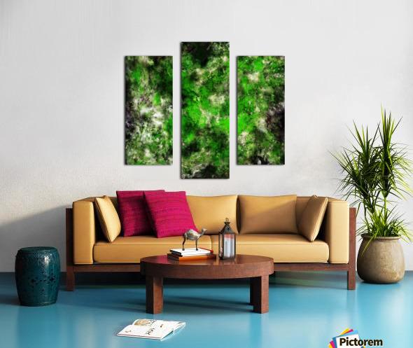 Green noise Canvas print