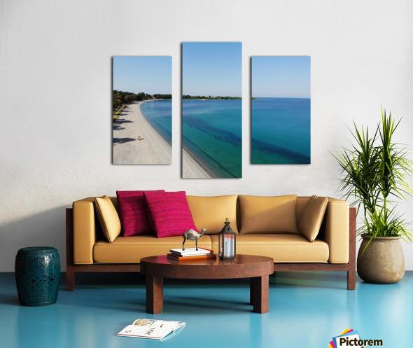 Greece coast near Lefkada Canvas print