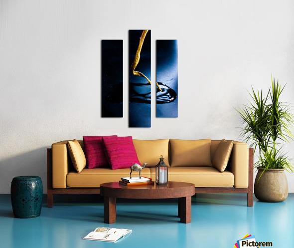 Gentle Blue Touch Canvas print