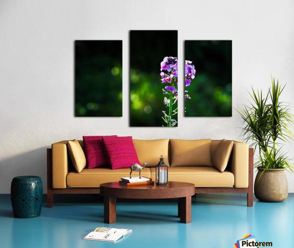 Royal Flower Canvas print