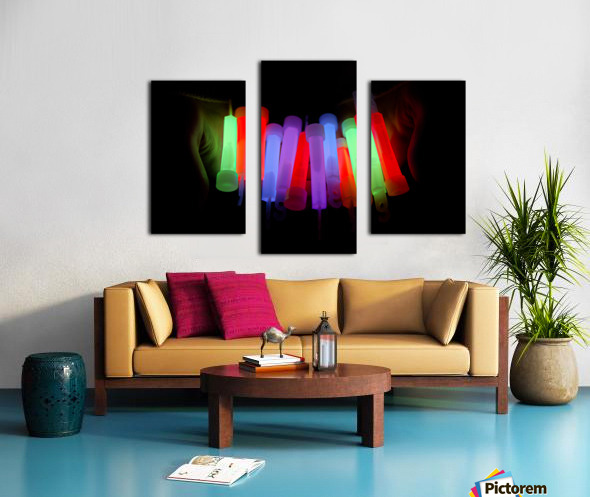 Lightstick Canvas print