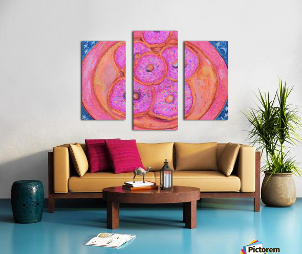 Pinkdoughnuts Canvas print