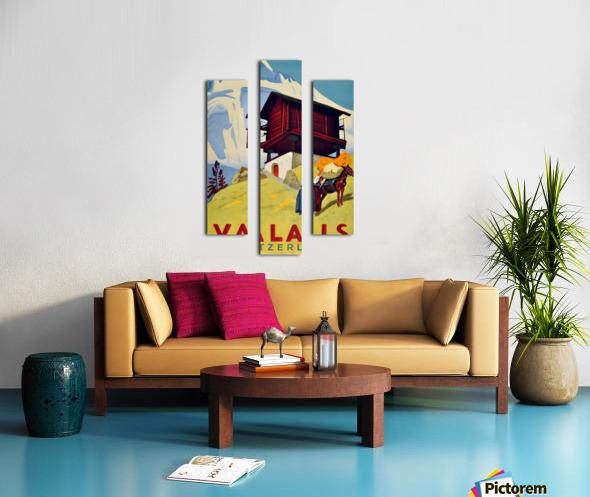 Valais Switzerland Canvas print