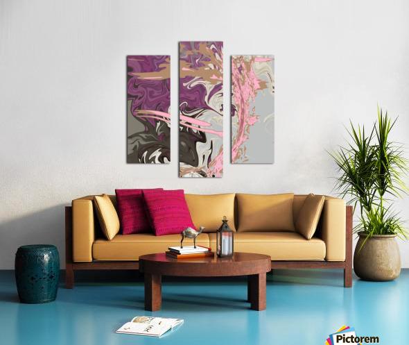 Art Nouveau Pour Canvas print