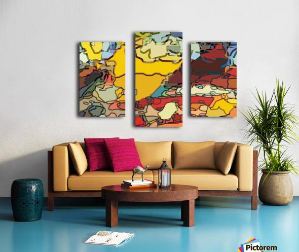 animal magnetism Canvas print