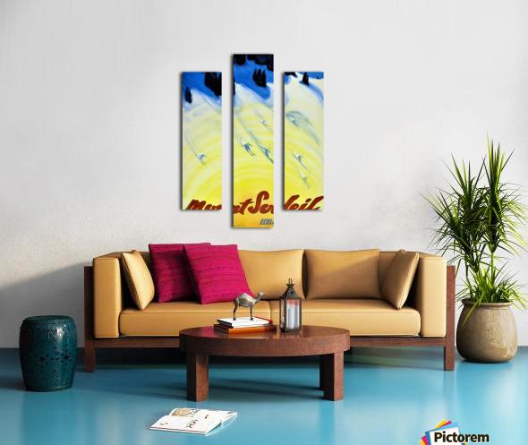 Mount Soleil Canvas print