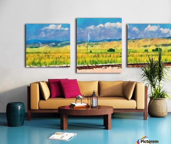 colorado skies Canvas print