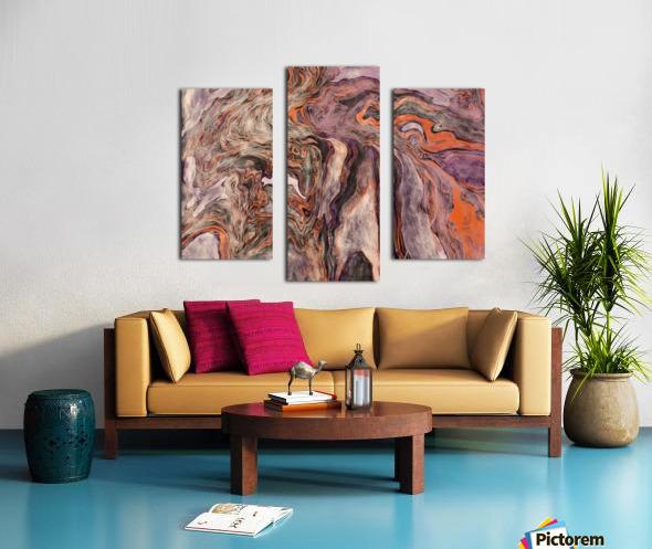 Fire Fall Canvas print