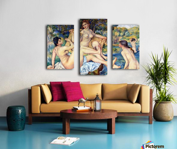 The Large Bathers by Renoir Canvas print