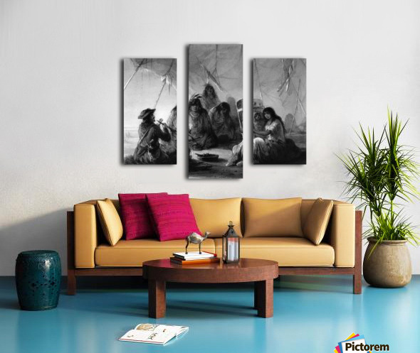 Indian hospitality Canvas print