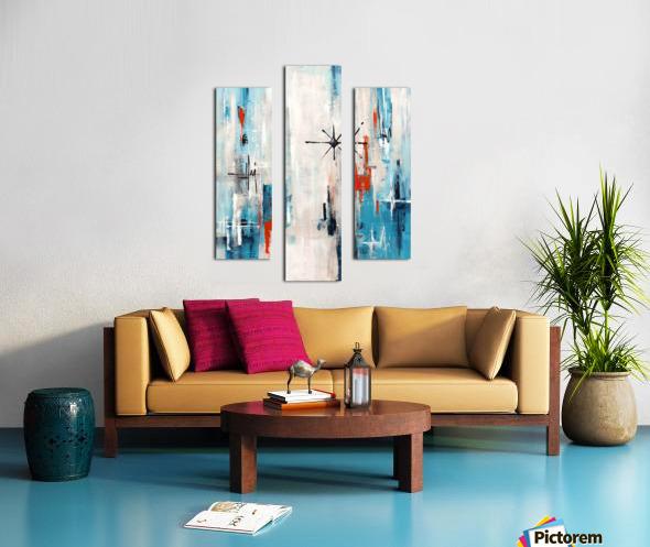 Stella XI Canvas print