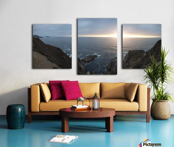 Pacific Coast Sunset Canvas print