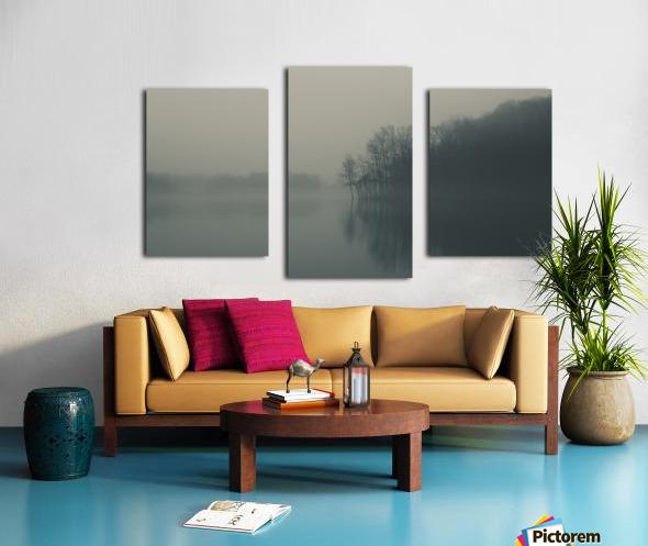 Fog and Peace Canvas print