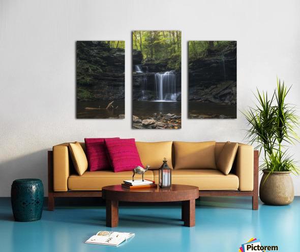 RB Ricketts Falls Canvas print
