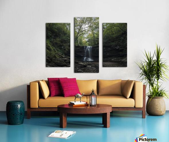 Harrison Wright Falls Canvas print