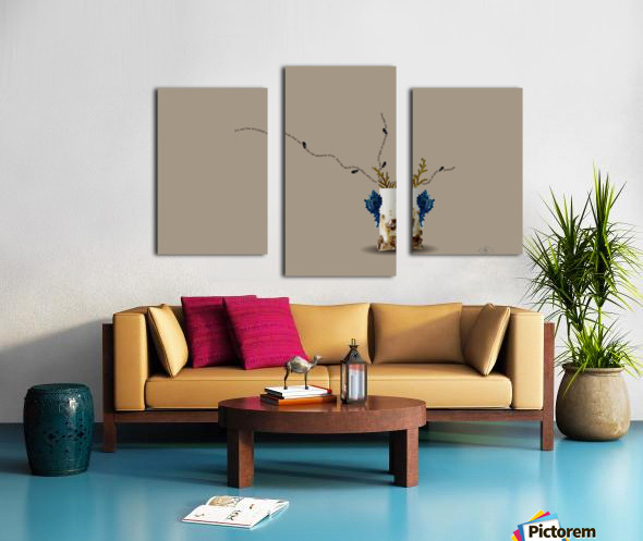 Encysted Canvas print