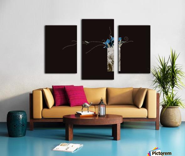 unpaid and unsung Canvas print