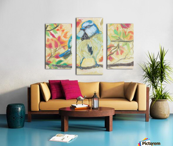 Angrybird Canvas print