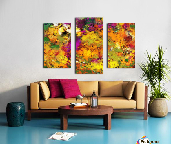 Looking for the impossible Canvas print