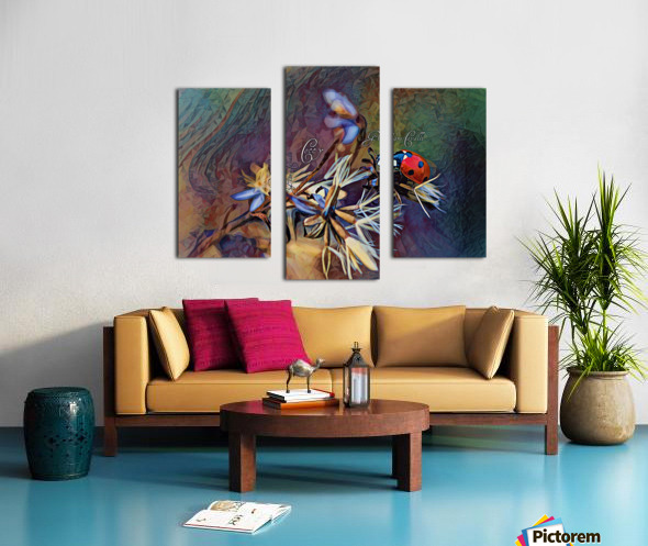 Cocci Art Giaro Cavalli Canvas print