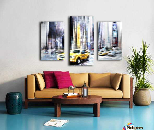 City-Art TIMES SQUARE II Canvas print