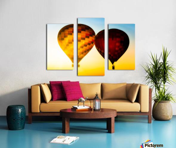 Look Into The Sun Canvas print