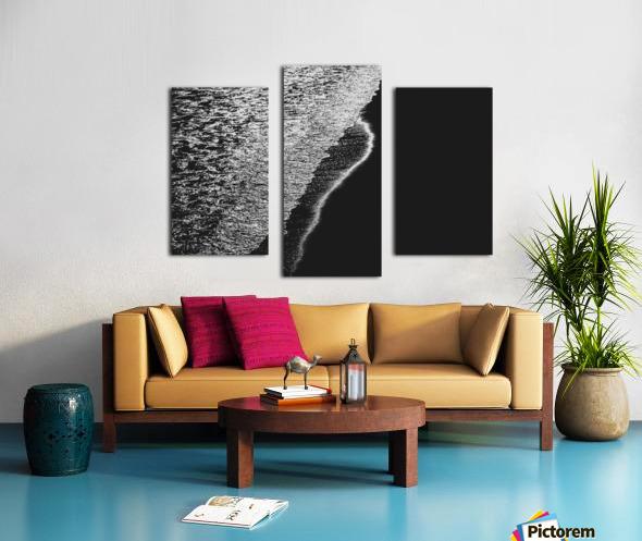 Moonlight Waves Revere Beach Canvas print