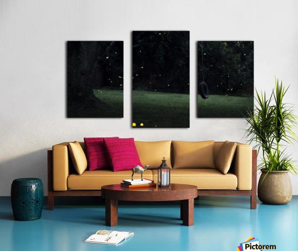 Fireflies in Pennsylvania Canvas print
