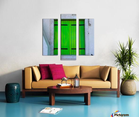 Windows of the World Canvas print
