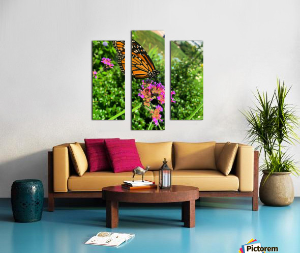 Butterfly Bliss  Canvas print