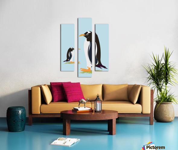 Gento Penguin Canvas print